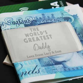 Greatest Daddy/Grandad Money Clip