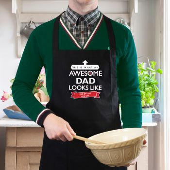 Awesome Dad Personalised Apron