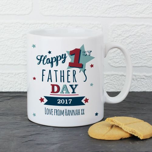 First Father's Day Mug