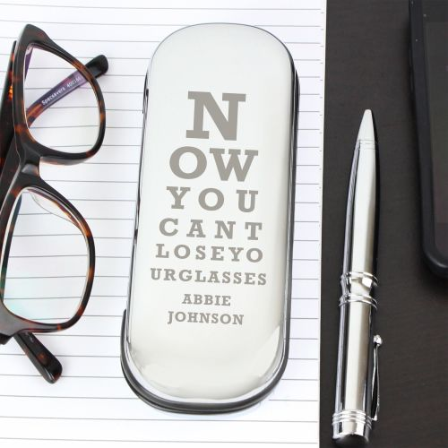 Eye Exam Personalised Glasses Case