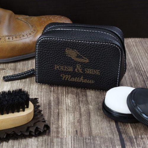 Personalised Shoe Shine Kit