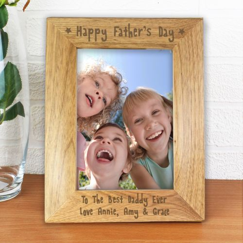 Happy Father's Day 5x7 Personalised Frame