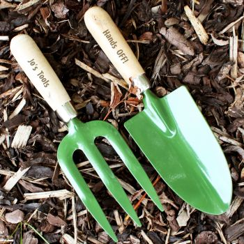 Fork & Trowel Personalised Set