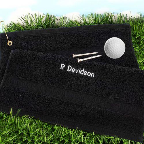 Golf Towel Personalised