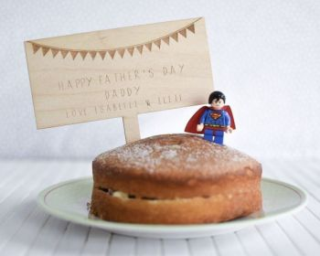 Father's Day Personalised Cake Topper