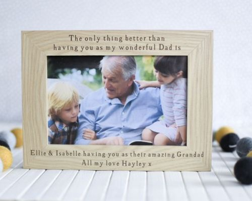 Only Thing Better Dad/Grandad Frame