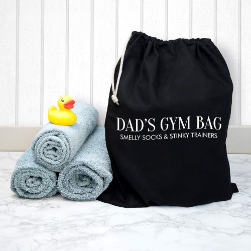 Dad's Personalised Gym Bag