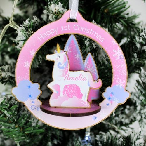 Personalised 'make your own' Unicorn Decoration Kit