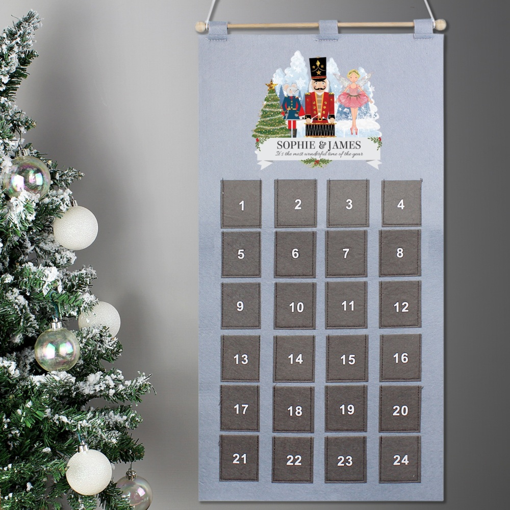 Nutcracker Personalised Advent Calendar