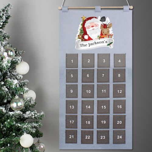 Santa Personalised Advent Calendar