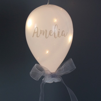Personalised LED Glass Balloon