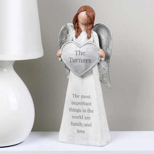 Family Personalised Angel