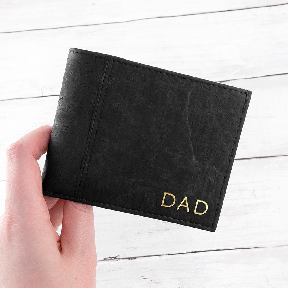 Black Vegan Personalised Wallet