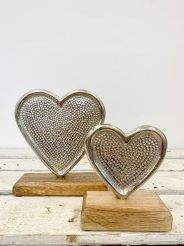 Heart Standing Decoration