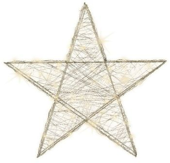 LED Silver Star