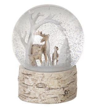 Winter Scene Snow Globe