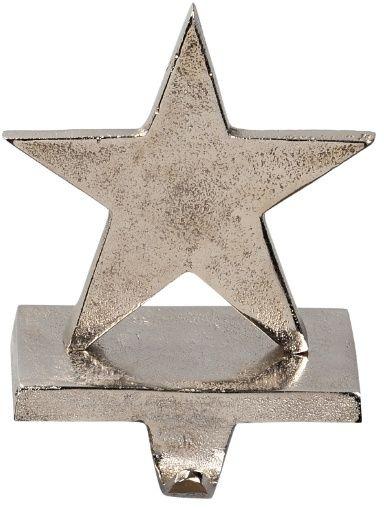 Star Silver Stocking Hanger