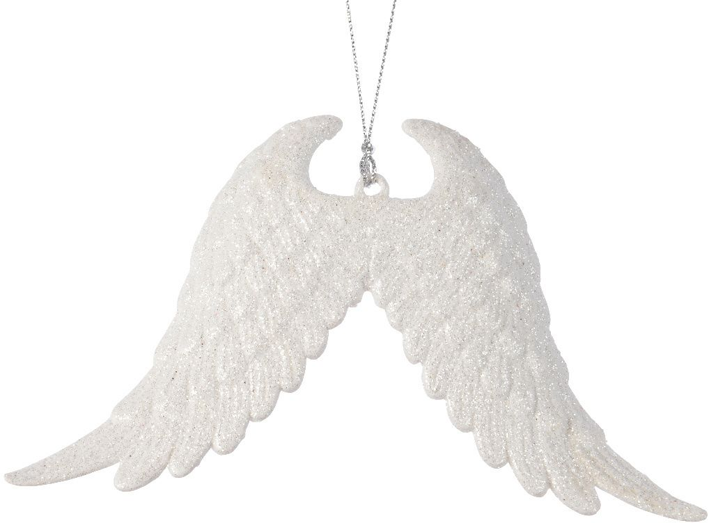 Angel Sparkly Wings Hanging Decoration