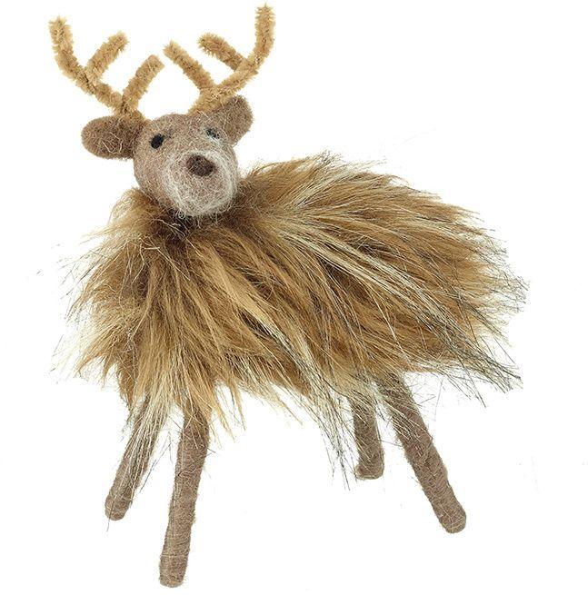 Fur Woollen Reindeer