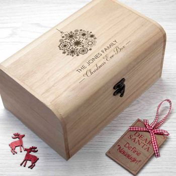 Family Christmas Eve Personalised Box