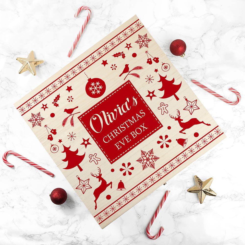 Children's Personalised Christmas Eve Box