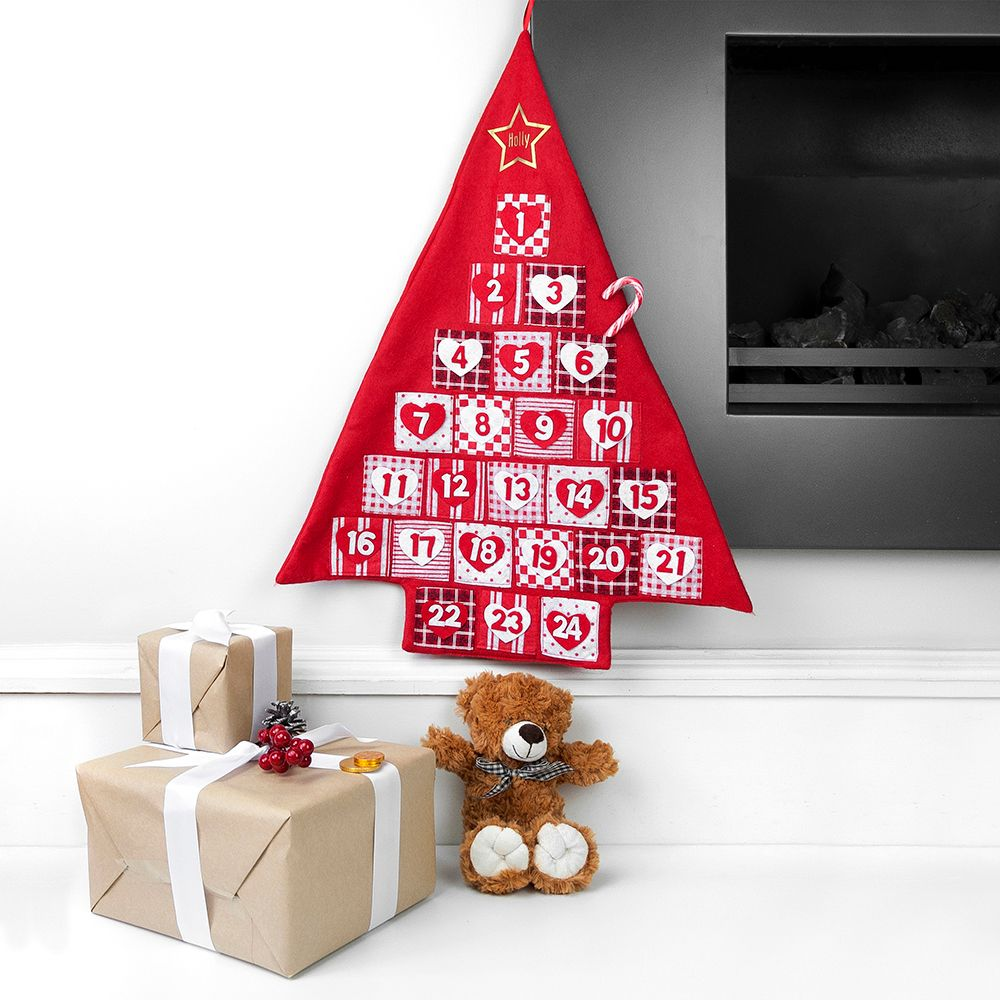 Personalised Tree Advent Calendar