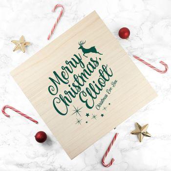 Rudolph Design Christmas Eve Box
