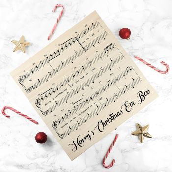Musical Personalised Christmas Eve Box