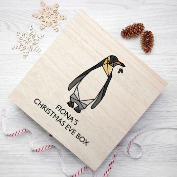 Penguin Personalised Christmas Eve Box