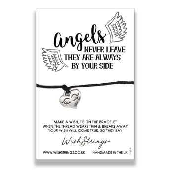 Angels Never Leave WishStrings Bracelet