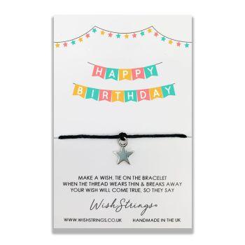 Happy Birthday WishStrings Bracelet