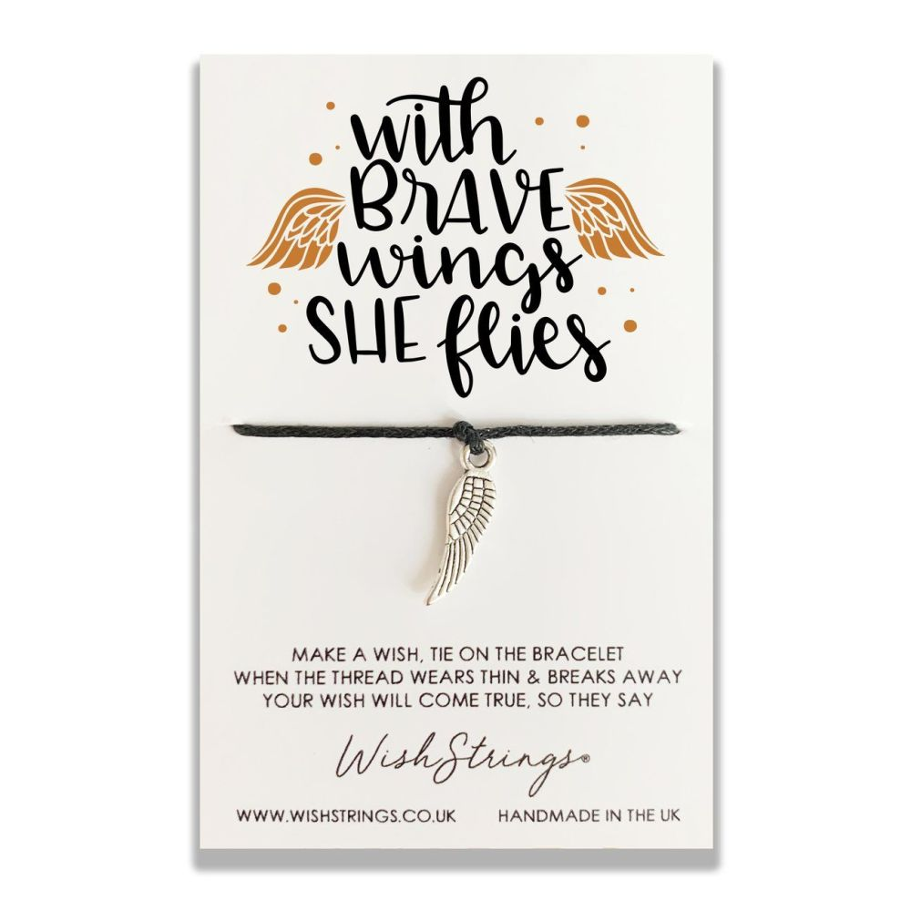 With Brave Wings WishStrings Bracelet