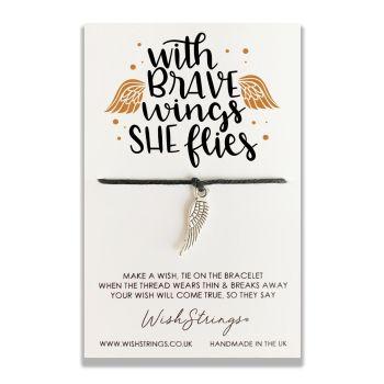With Brave Wings WishStrings Bracelet