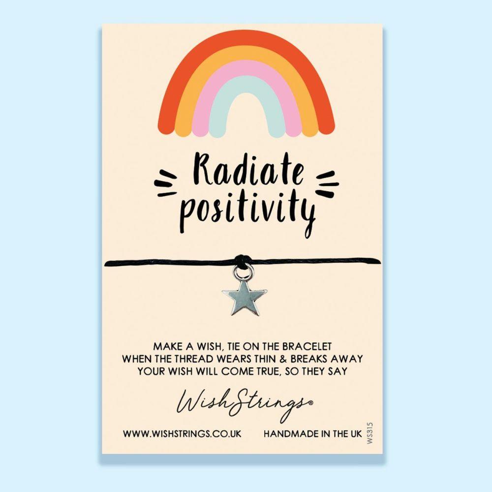 Radiate Positivity WishStrings Bracelet