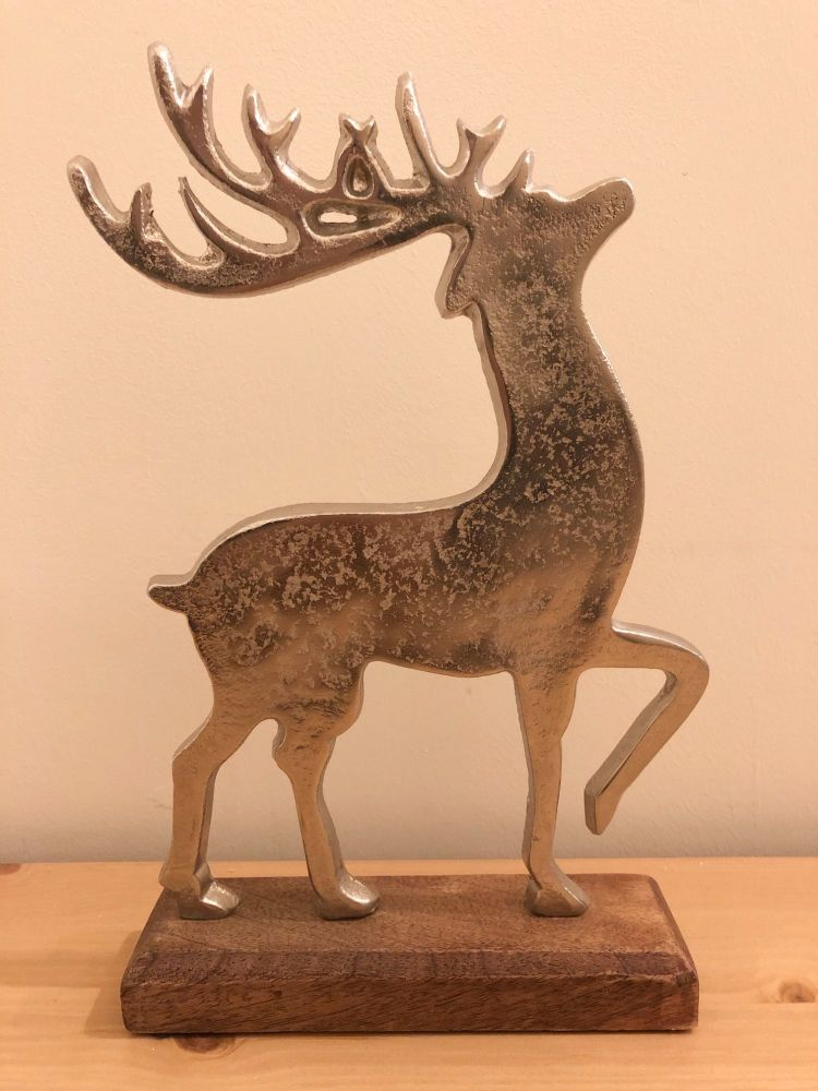 Metal/Wood Mix Stag