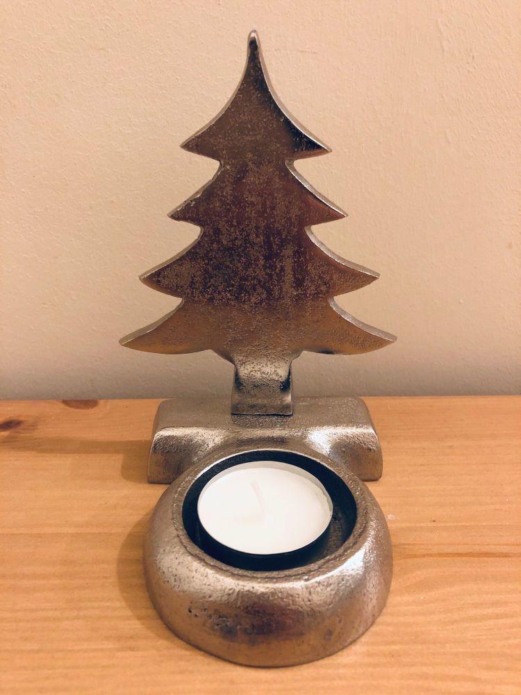 Metal Tree Tea Light Holder