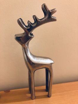 Standing Metal Reindeer