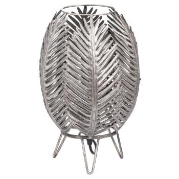 Antique Palm Leaf Table Lamp