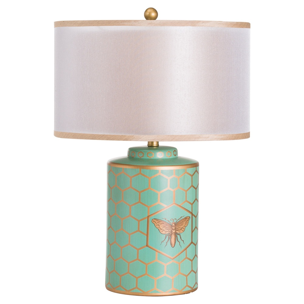 White Bee Table Lamp