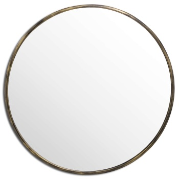 Large Narrow Edged Mirror