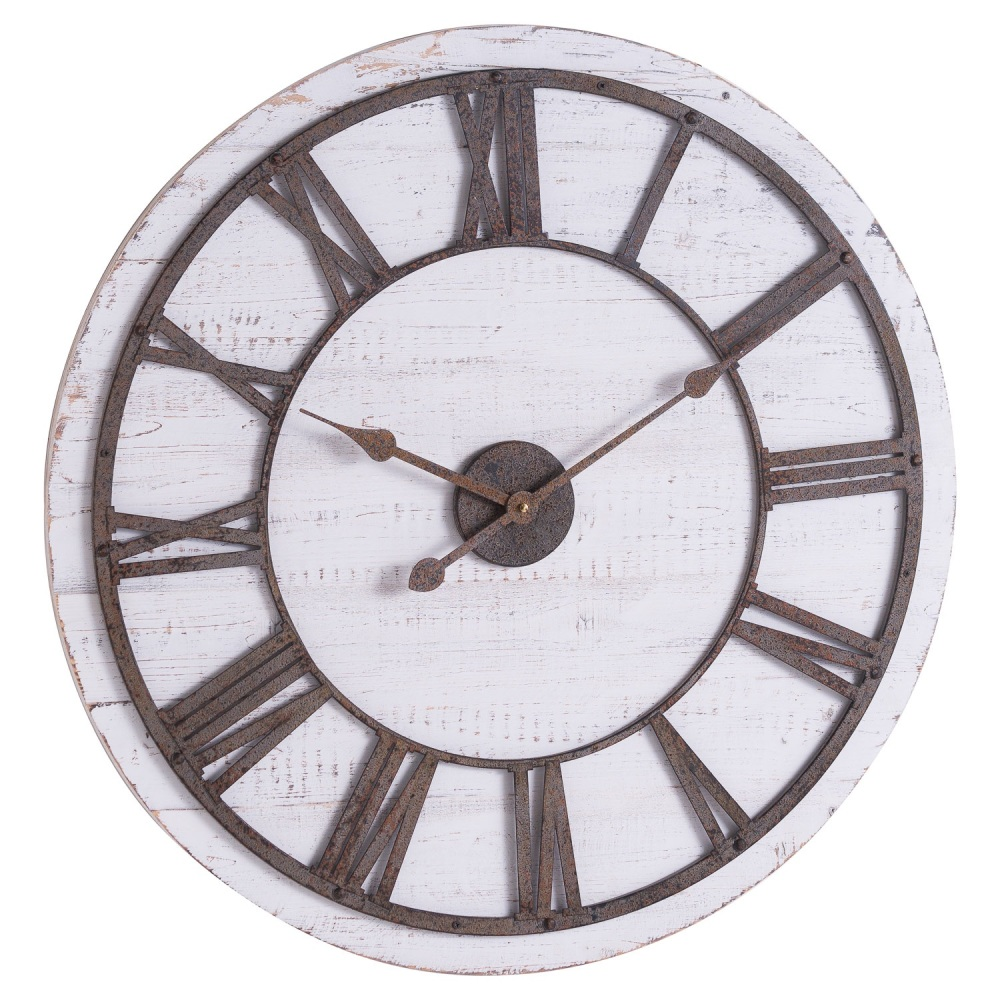 Rustic Wooden Clock