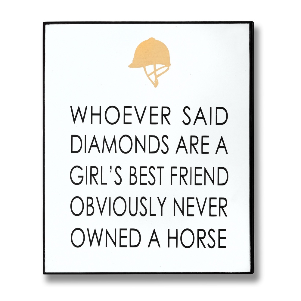 Horse Lover Sign