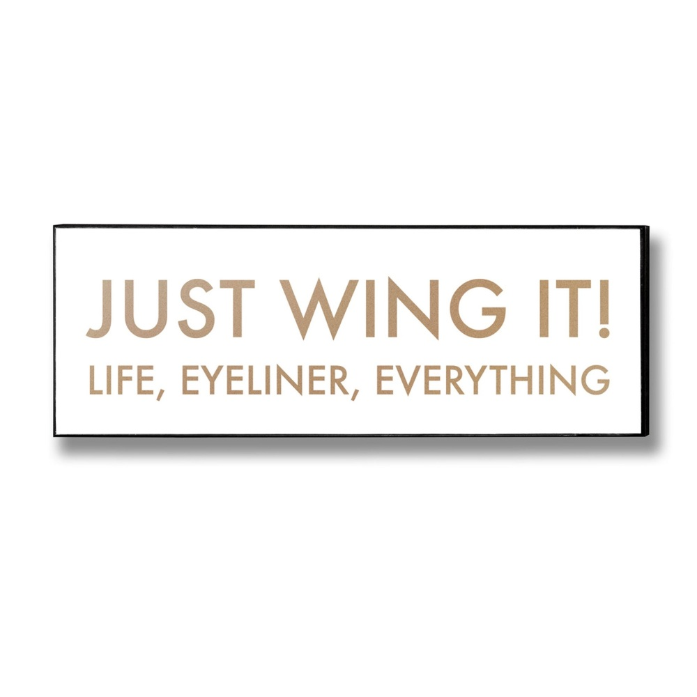 Wing It Sign