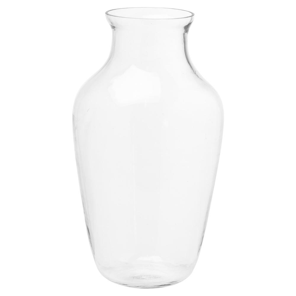 Large Amphora Glass Vase