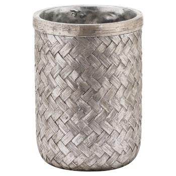 Woven Effect Vase