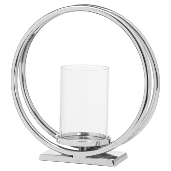 Twin Loop Candle Holder