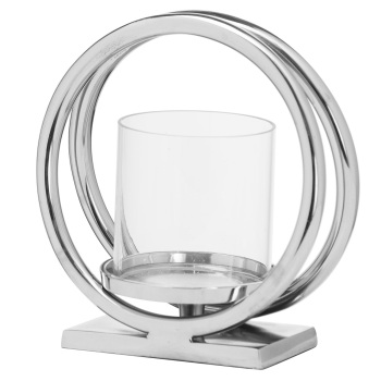 Large Twin Loop Candle Holder