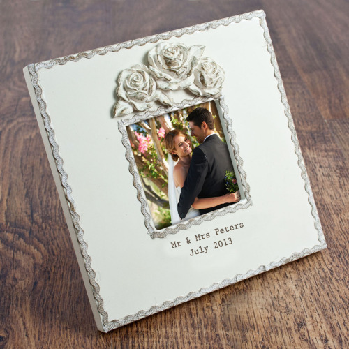 Rustic Rose Photo Frame