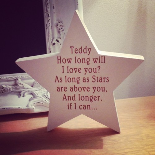 How Long Will I Love You Star