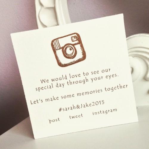 Social Media Wedding Block